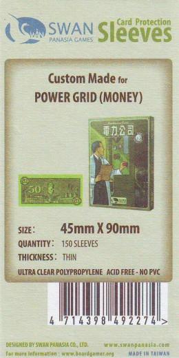 Kartenhüllen, 45mm x 90mm, 150 Hüllen, dünn