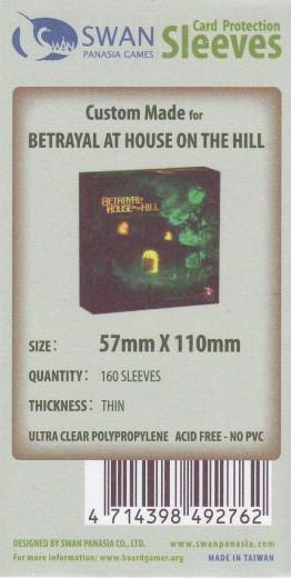 Kartenhüllen, 57mm x 110mm, 160 Hüllen, dünn