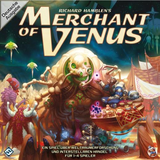 Merchant of Venus deutsche Ausgabe