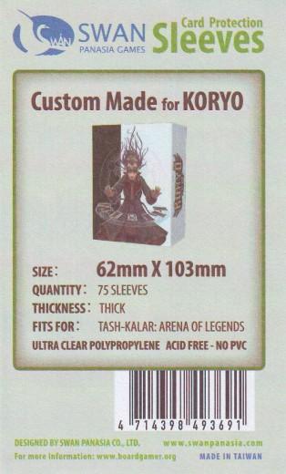 Kartenhüllen, 62mm x 103mm, 75 Hüllen, Premium