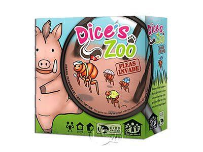 Dice´s Zoo: Fleas Invade