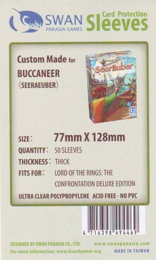 Kartenhüllen, 77mm x 128mm, 50 Hüllen, Premium