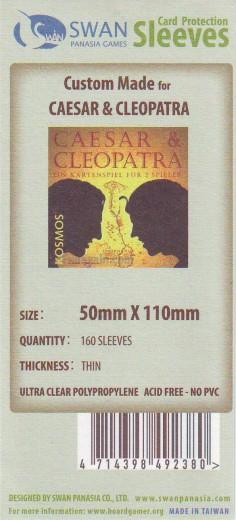 Kartenhüllen, 50mm x 110mm, 160 Hüllen, dünn