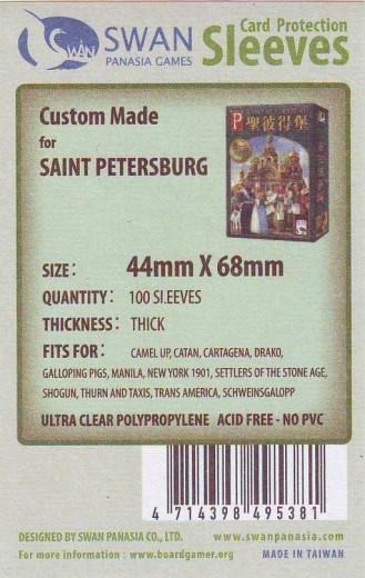 Kartenhüllen, 44mm x 68mm, 100 Hüllen, Premium