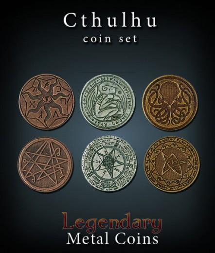 Legendary Metal Coins: Cthulhu Set