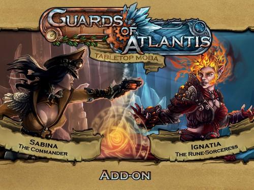 Guards of Atlantis Add-On Sabina & Ignatia