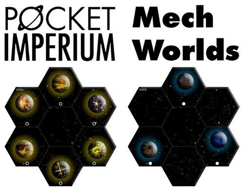 Pocket Imperium Mech Worlds Erweiterung
