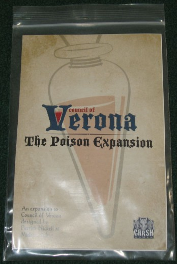 Council of Verona The Poison Expansion