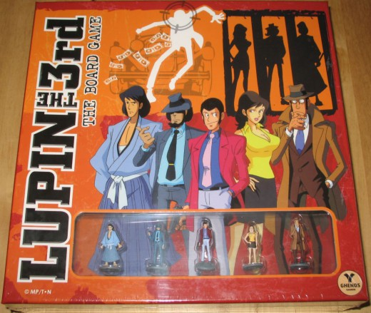 Lupin The 3rd The Board Game