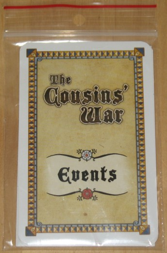The Cousins´ War Events Erweiterung