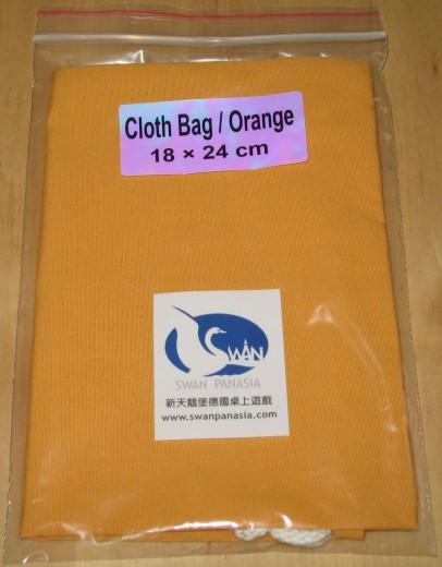 Stoffbeutel 18x24 cm orange
