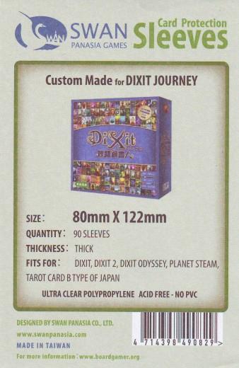 Kartenhüllen, 80mm x 122mm, 90 Hüllen, Premium