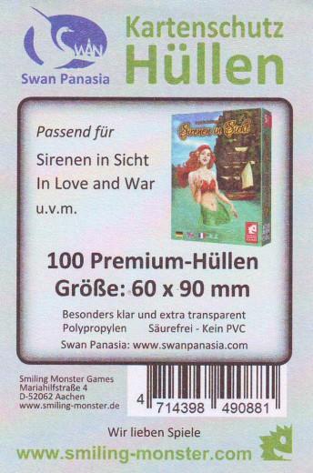 Kartenhüllen, 60mm x 90mm, 100 Hüllen, Premium