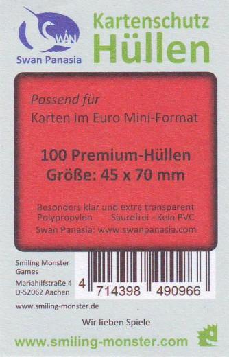 Kartenhüllen, 45mm x 70mm, 100 Hüllen, Premium