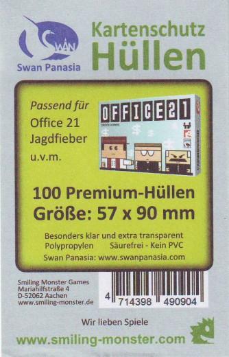 Kartenhüllen, 57mm x 90mm, 100 Hüllen, Premium