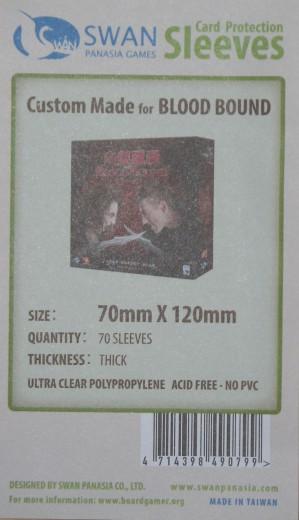 Kartenhüllen, 70mm x 120mm, 70 Hüllen, Premium