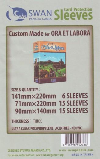 Kartenhüllen-Set, Custom Made für Ora et Labora, Premium
