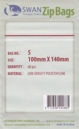 Zip-Tüte 100x140 mm, 60 Stück