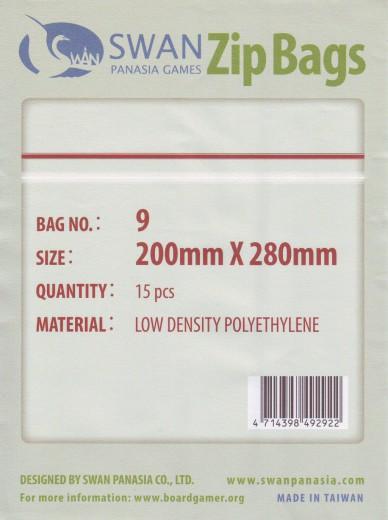 Zip-Tüte 200x280 mm, 15 Stück