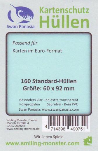Kartenhüllen, 60mm x 92mm, 160 Hüllen, dünn