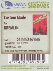 Kartenhüllen, 51mm x 67mm, 160 Hüllen, dünn