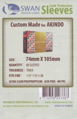 Kartenhüllen, 74mm x 105mm, 80 Hüllen, Premium