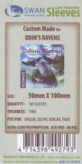 Kartenhüllen, 50mm x 100mm, 160 Hüllen, dünn
