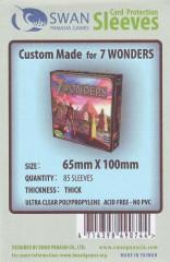 Kartenhüllen, 65 x 100mm, 85 Hüllen Premium
