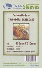 Kartenhüllen, 130mm x 210mm, 30 Hüllen, Premium