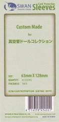 Kartenhüllen, 63mm x 128mm, 50 Hüllen, Premium