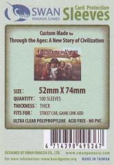 Kartenhüllen, 52mm x 74mm, 100 Hüllen, Premium