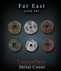 Legendary Metal Coins: Far East Set