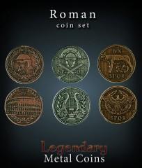 Legendary Metal Coins: Roman Set