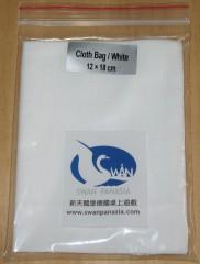 Cloth bag 12x18 cm white