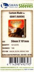 Kartenhüllen, 50mm x 101mm, 160 Hüllen, dünn