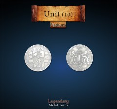 Units platinum coin 10