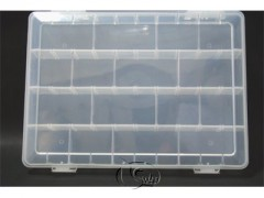 Accessory box up to 40 compartments with 12 dividers