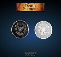 Legendary Metall Münzen Death Element Set