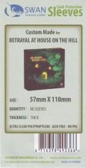 Kartenhüllen, 57mm x 110mm, 80 Hüllen, Premium